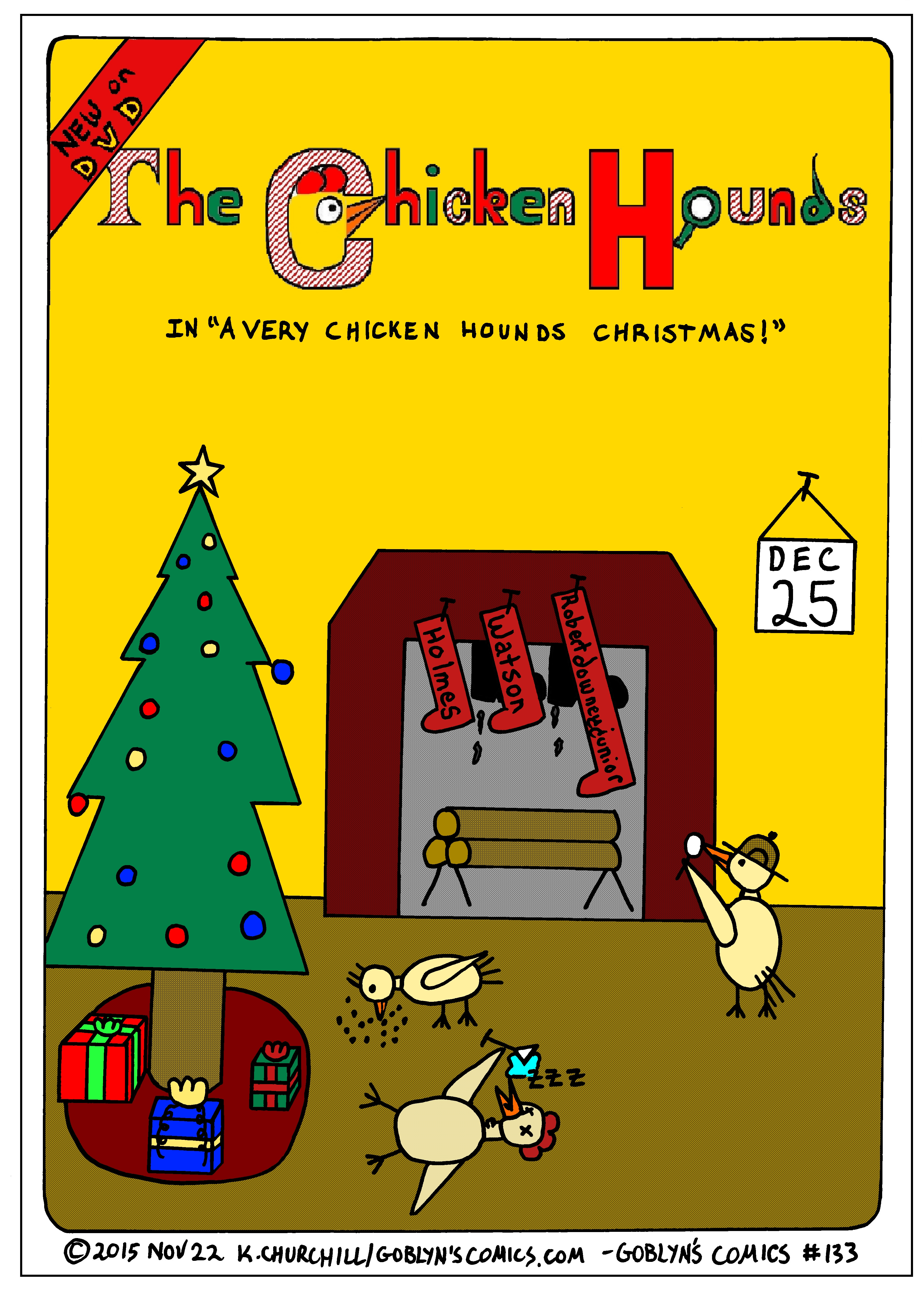 Chicken Hounds Christmas