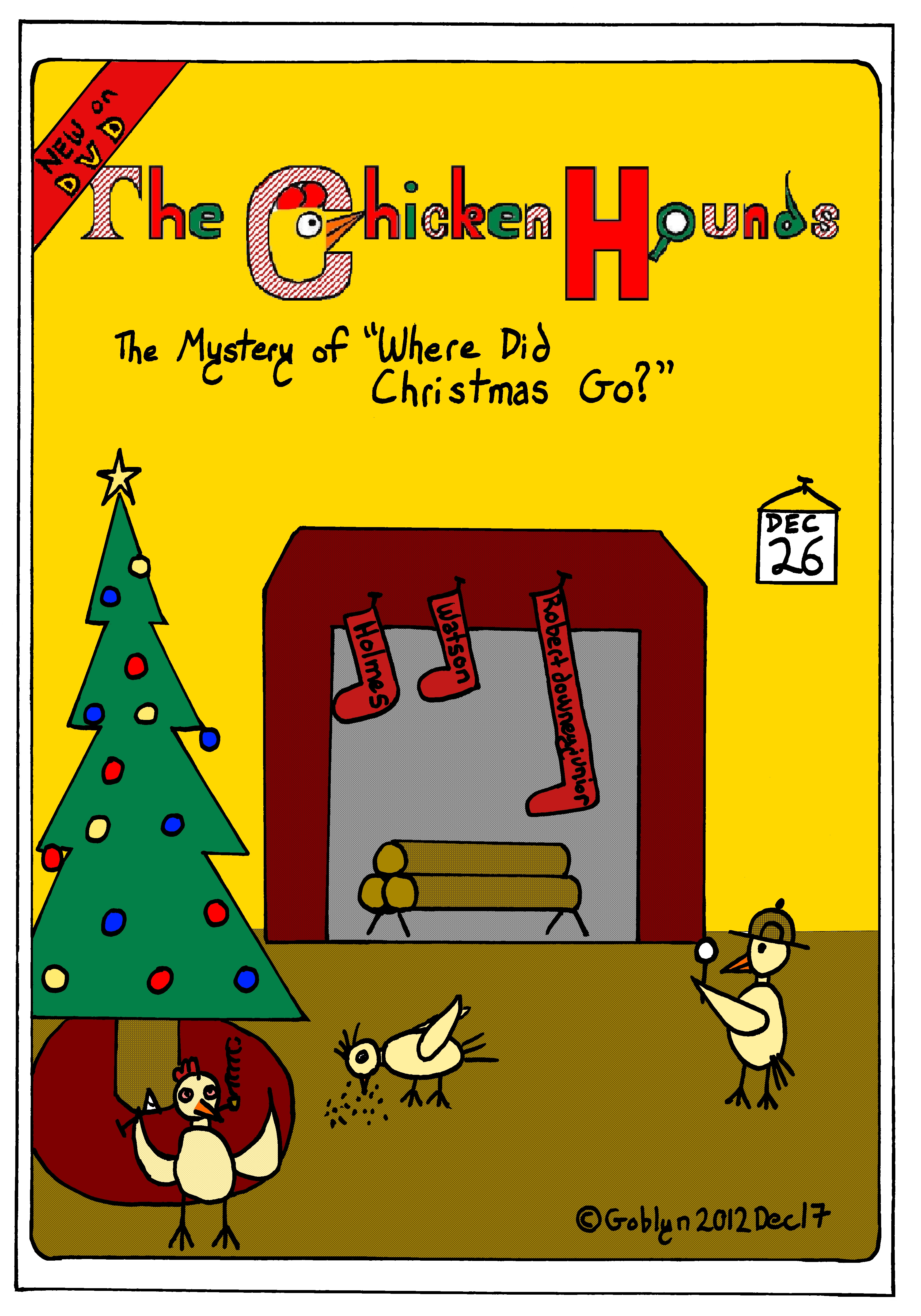 "The Chicken Hounds in ""The Mystery of Where Did Christmas Go?"""